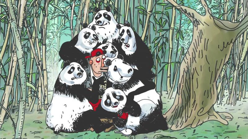 Poster Pandas_dans_la_brume_3