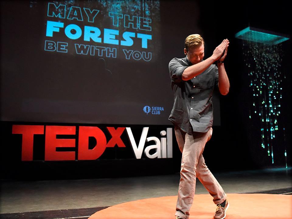 Justin Bogardus+TEDx+NatureRx+Maytheforestbewithyou