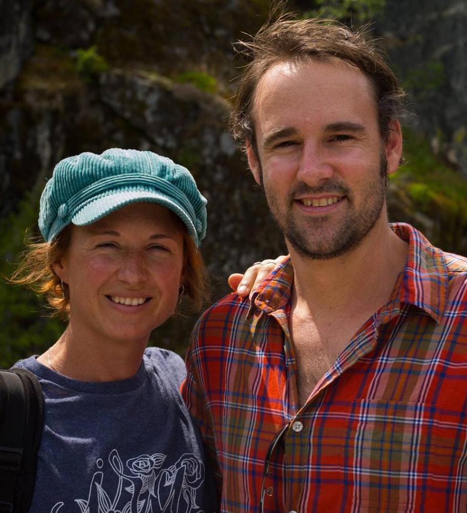 Amy Pysden and Daniel Clarke