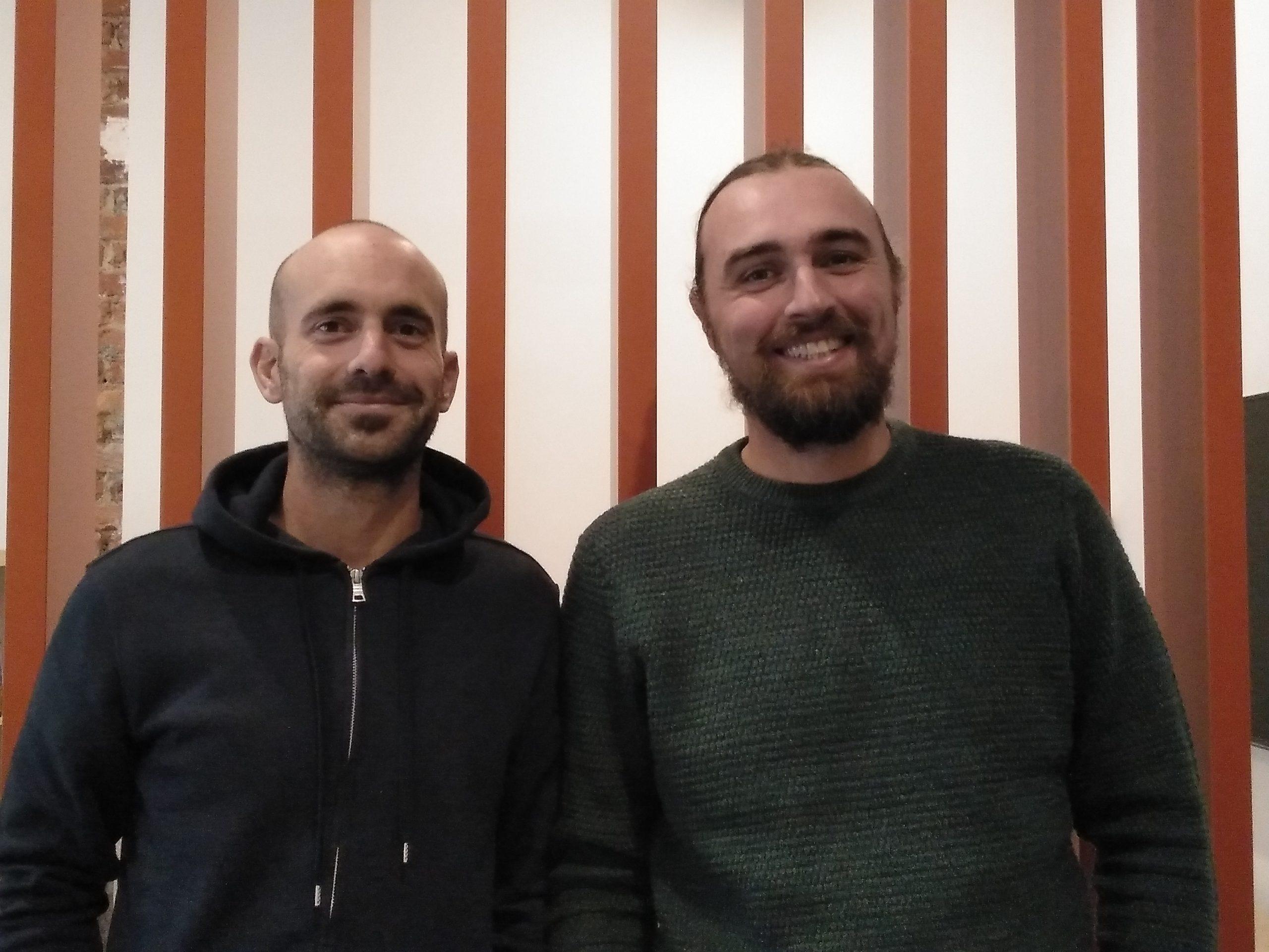 Aner Etxebarria Moral and Pablo Vidal Santos