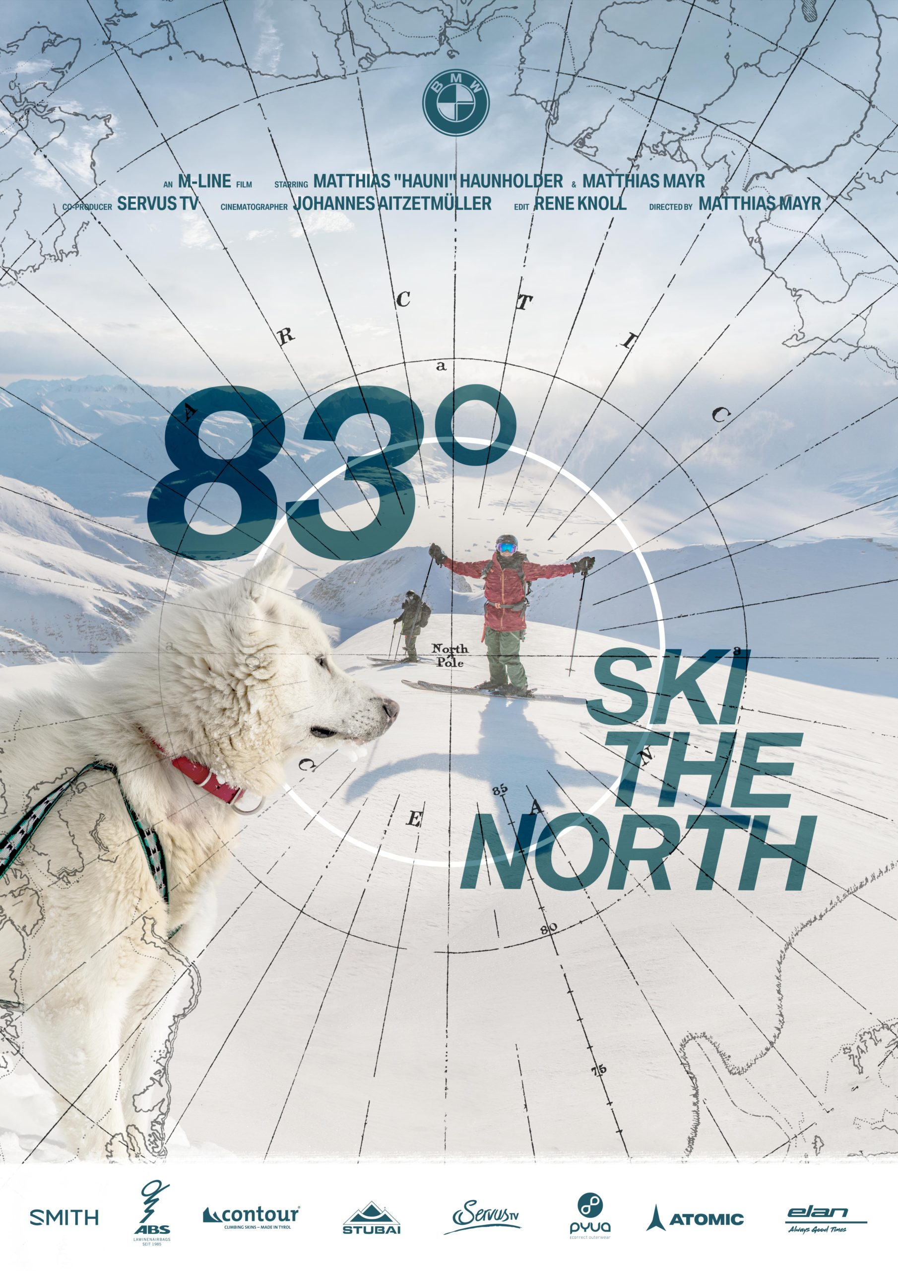 83° Ski The North