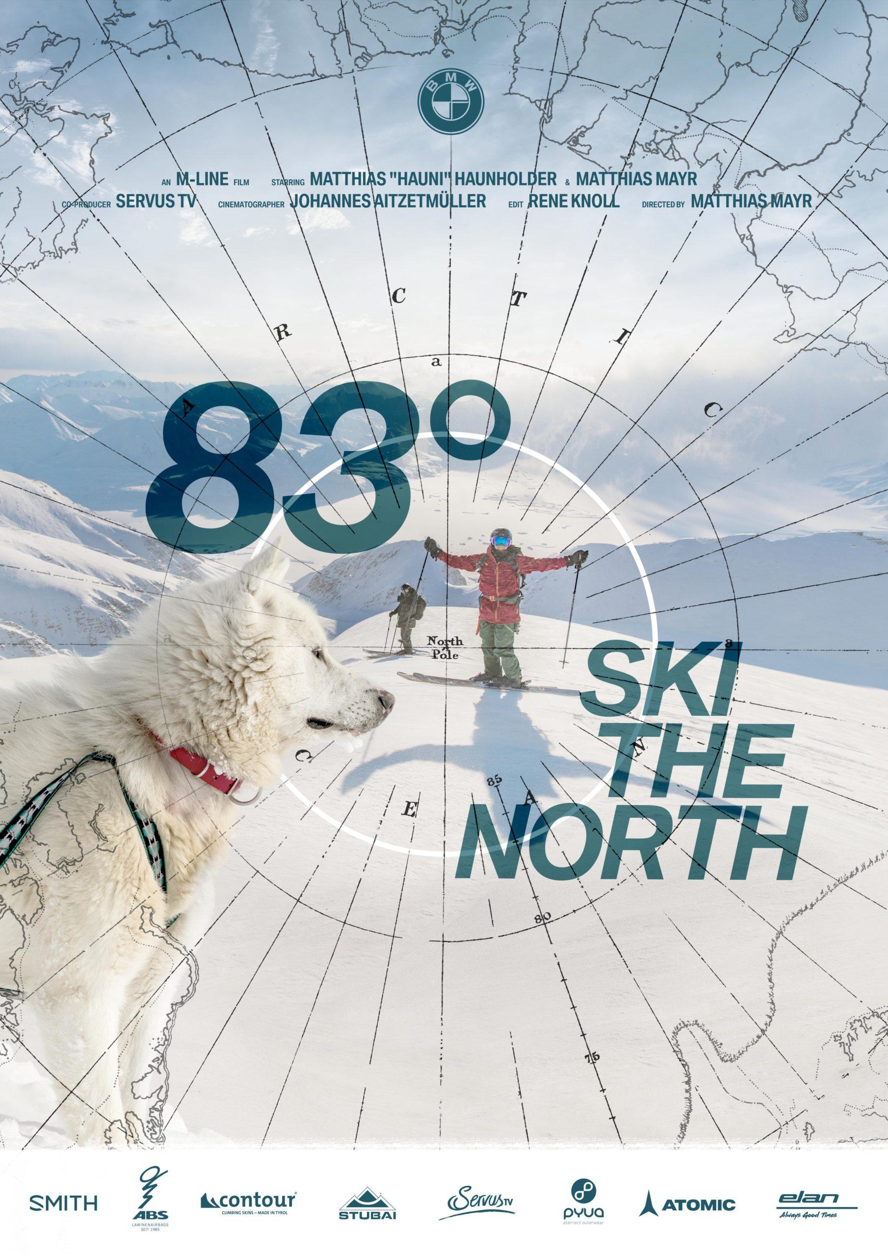 83° Ski The North